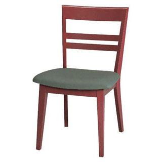 【 業務用 】椅子 高級鏡面塗 朱 9-131-5