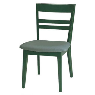 【 業務用 】椅子 高級鏡面塗 グリーン 9-131-6