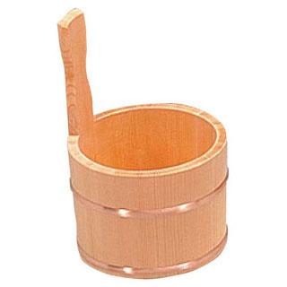 【まとめ買い10個セット品】【 業務用 】椹・片手湯桶