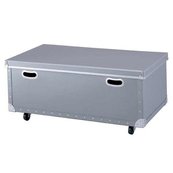 exp-61-118-4-2 人気 おすすめ 収納ボックス強化タイプフタ付 W84cmシルバー 厨房館 特別セール品