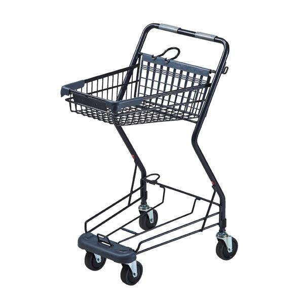 ショッピングカート小型バスケットタイプ 1台 【厨房館】