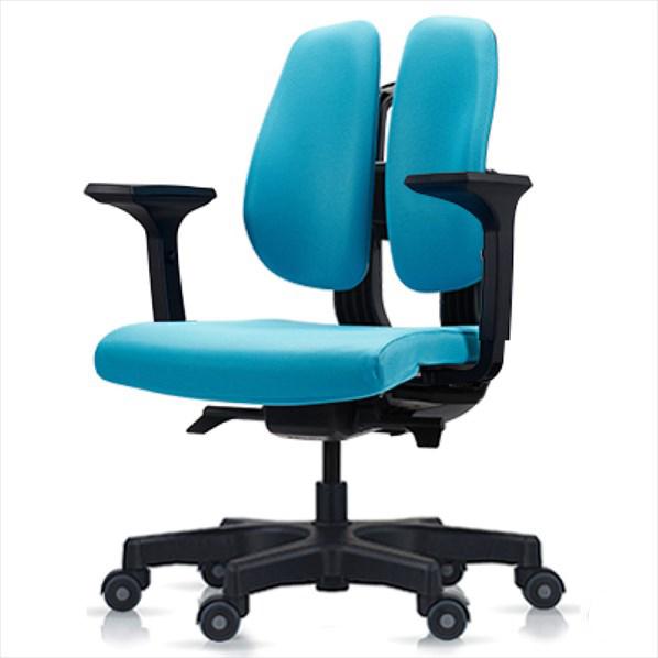 オフィスチェア D150 BLUE 1台 【厨房館】