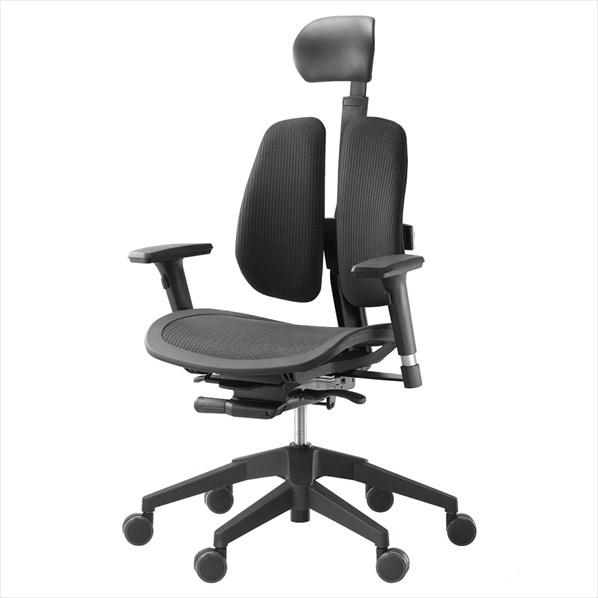 オフィスチェア α60H BLACK 1台 【厨房館】