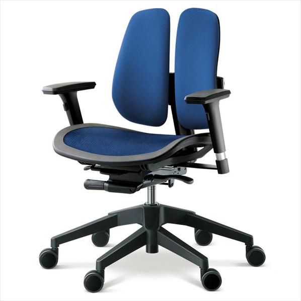 オフィスチェア α60N BLUE 1台 【厨房館】
