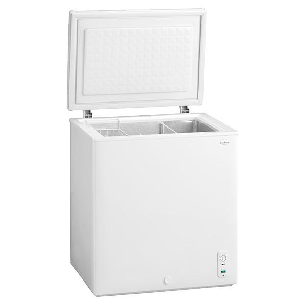 チェスト型 直冷式冷凍庫 142L 1台 【厨房館】