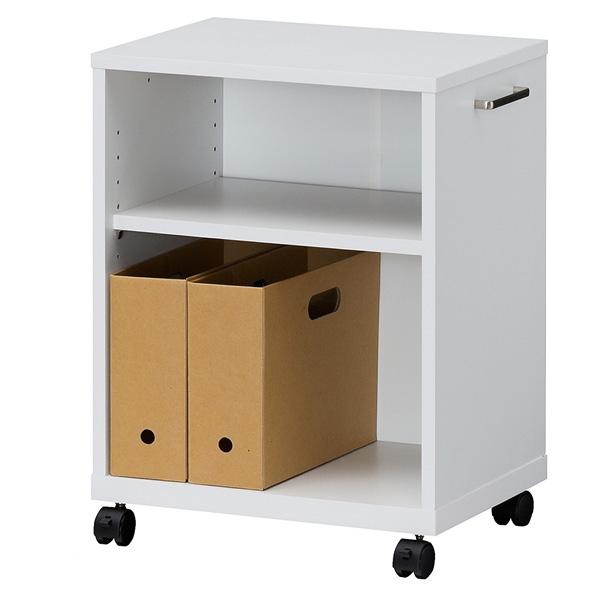 オフィスコ2 木製デスク周りワゴン天板付 タイプ 【厨房館】