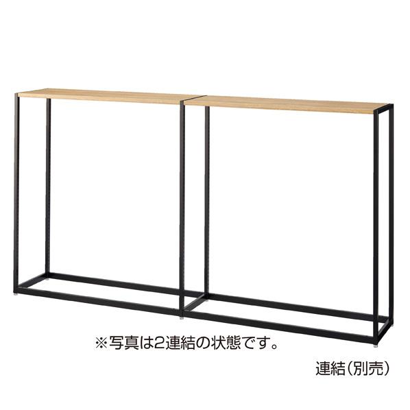 LR4中央片面ブラック本体W120×H135シナ積層 木天板セット 【厨房館】