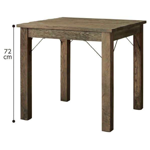 ヴィンテージウッドテーブル W75cm パイン材 【厨房館】