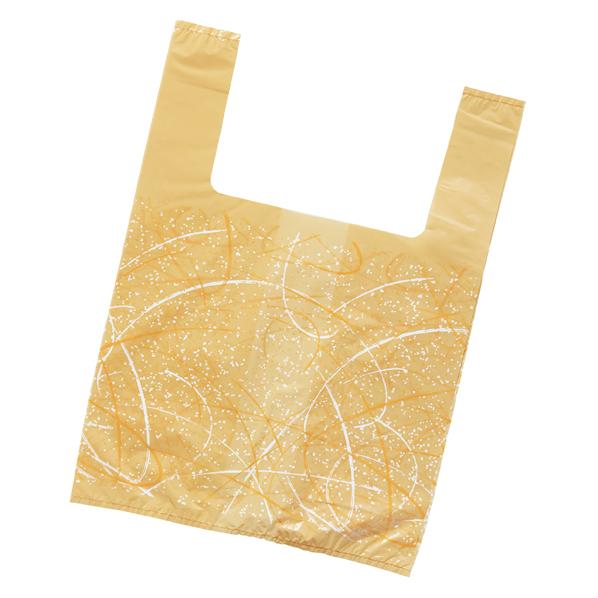 レジ袋ゆうび 25×35(23)×横マチ20 1 【 ラッピング用品 ラッピングシリーズ 和風ラッピング レジ袋 ゆうび 】【厨房館】