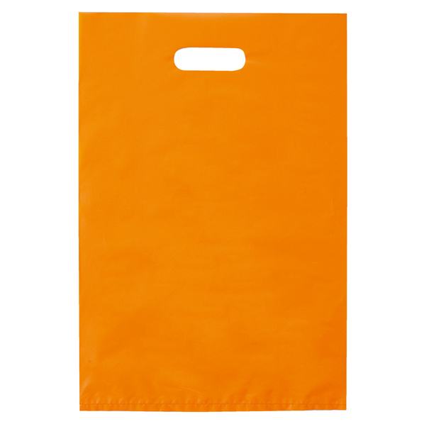 ポリ袋ハード型 オレンジ 25×40cm2000枚 【厨房館】