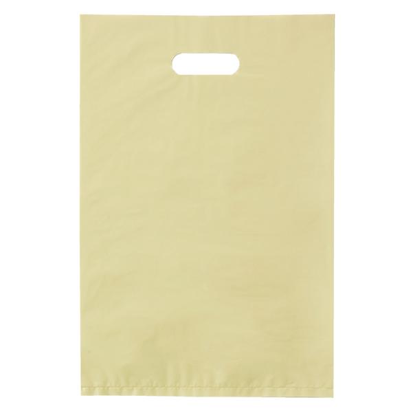 ポリ袋ハード型 アイボリー50×60cm 500枚 【厨房館】
