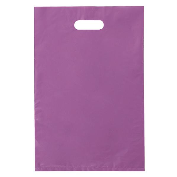 ポリ袋ハード型 パープル30×45cm1000枚 【厨房館】