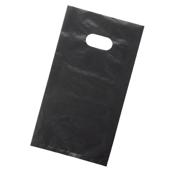 ポリ袋ハード薄口ブラック20X36cm2000枚 B5 ローコストタイプ 【厨房館】