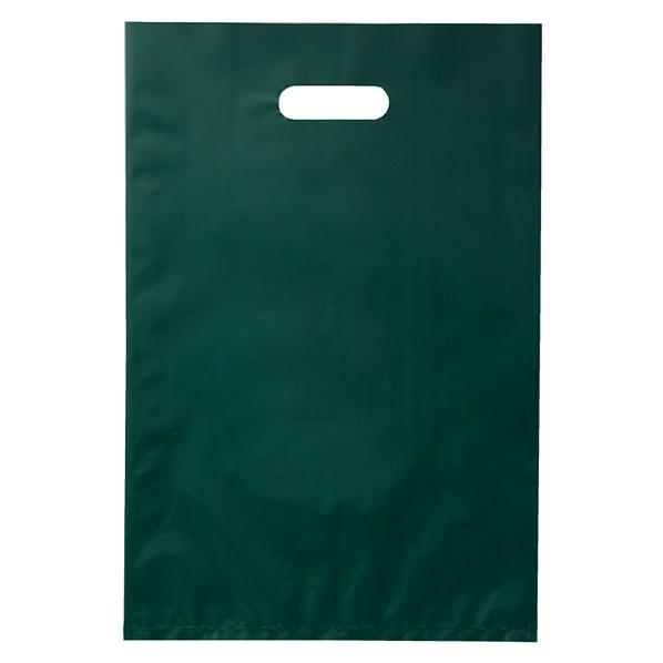 ポリ袋ソフト型 ダークグリーン 25×40cm 20 【 ラッピング用品 レジ袋・ポリ袋 スクエアバッグ(無地) ポリ袋ソフト型 カラー ダークグリーン 】【厨房館】