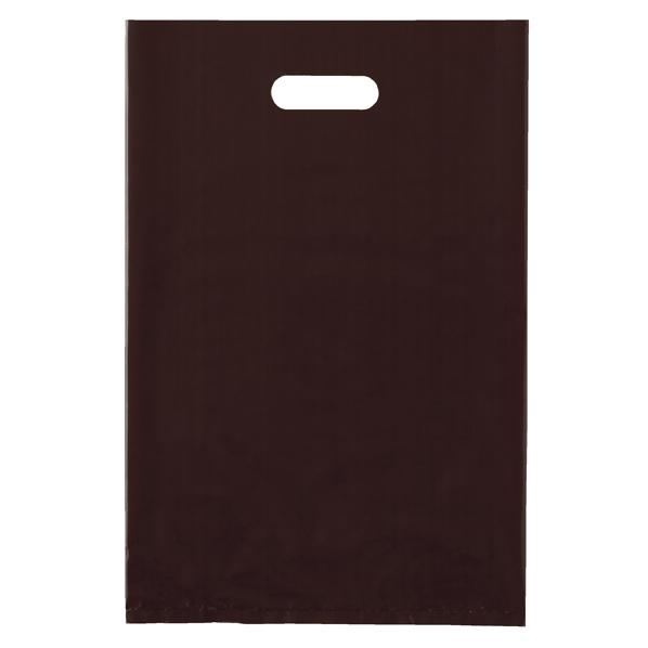 ポリ袋ソフト型 ブラウン 25×40cm 2000枚 【 ラッピング用品 レジ袋・ポリ袋 スクエアバッグ(無地) ポリ袋ソフト型 カラー ブラウン 】【厨房館】