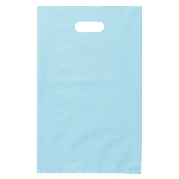ポリ袋ソフト型 ブルー 40×50cm 500枚 【厨房館】