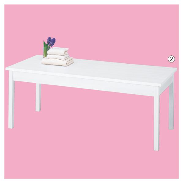 【まとめ買い10個セット品】 木製テーブル W180cm ホワイト 【厨房館】