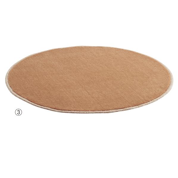 【まとめ買い10個セット品】 フィッティングルーム用カーペット74cm径キャメル 【厨房館】