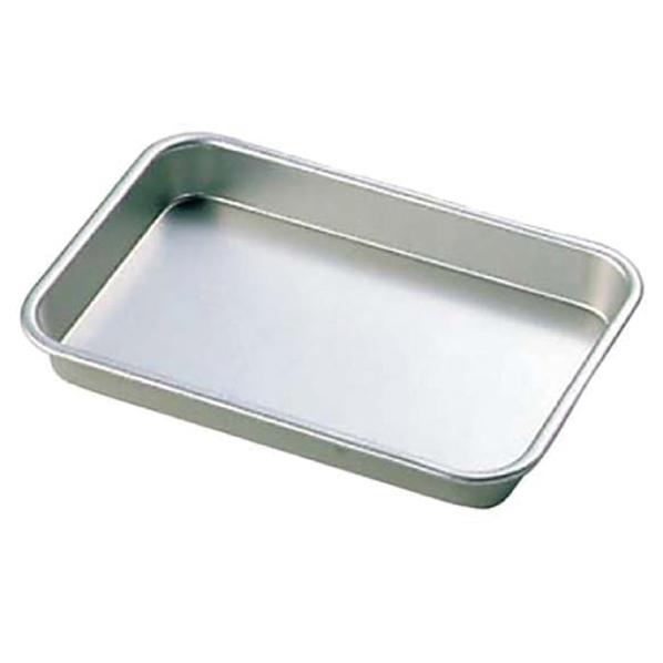 【まとめ買い10個セット品】 アルマイト 標準 角バット2号 348×273×H38 【厨房館】