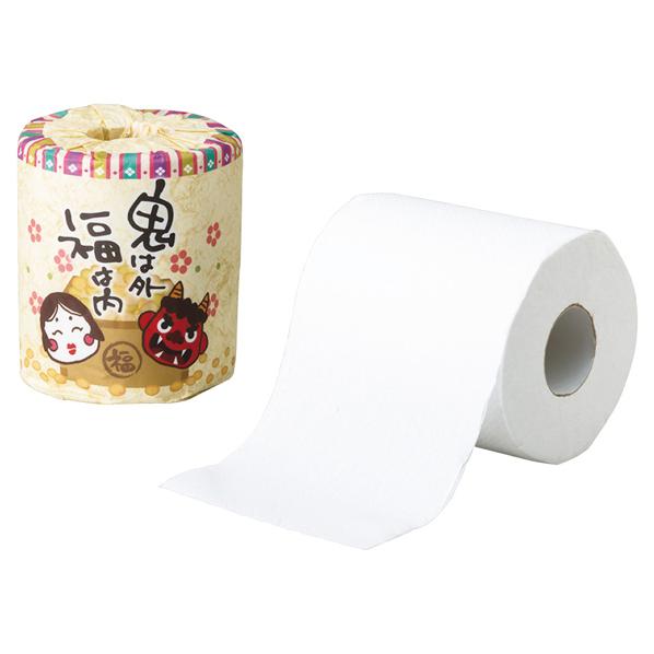 トイレットペーパー節分100個 【厨房館】