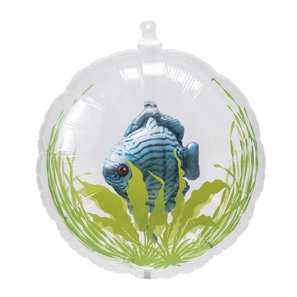 【まとめ買い10個セット品】 金魚鉢バルーン ディスカス5個 【厨房館】