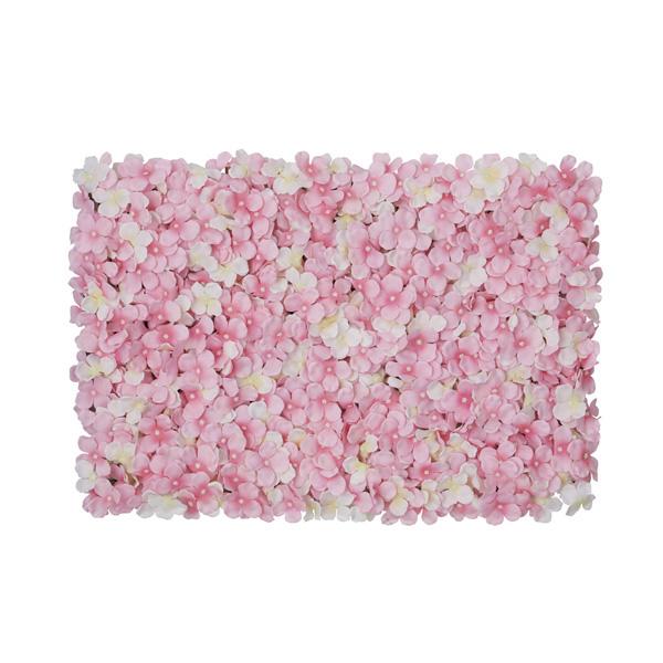 【まとめ買い10個セット品】 あじさい壁掛けマット ホワイト/ピンク1個 【厨房館】