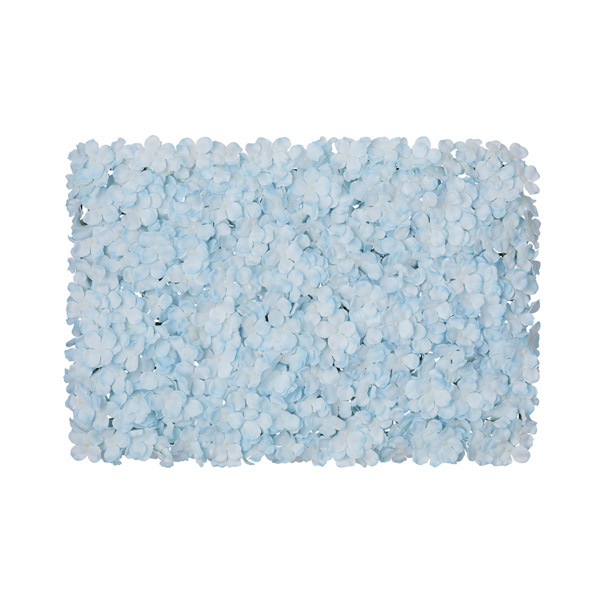 【まとめ買い10個セット品】 あじさい壁掛けマット ブルー1個 【厨房館】