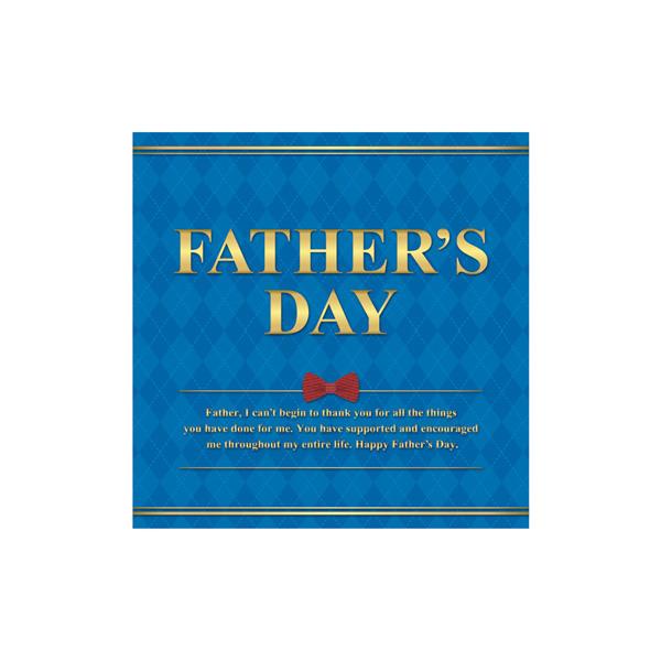 【まとめ買い10個セット品】 FATHERS DAY テーマポスター 10枚 【厨房館】