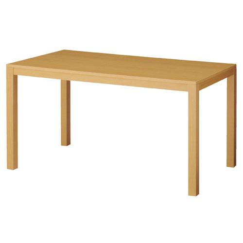 木製ショーテーブル エクリュ W150×D80×H80cm 【メーカー直送/代金引換決済不可】【店舗什器 パネル 壁面 店舗備品 仕切 棚】【厨房館】