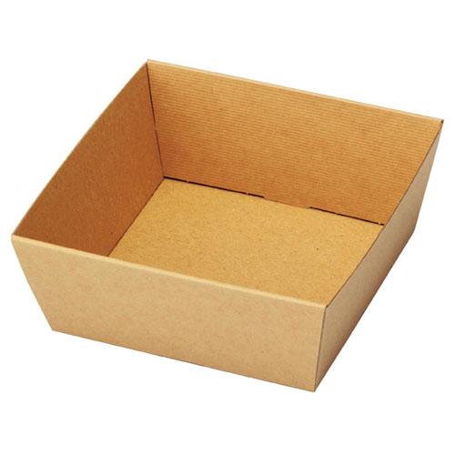 【まとめ買い10個セット品】 シンプルクオリティ ギフトトレー 13(11)×13(11)×5 20枚【店舗什器 小物 ディスプレー ギフト ラッピング 包装紙 袋 消耗品 店舗備品】【厨房館】