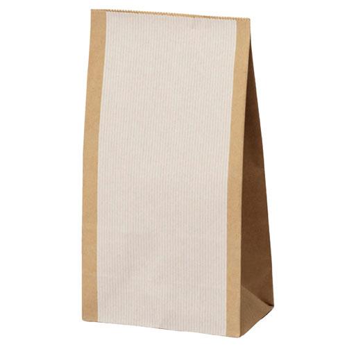【まとめ買い10個セット品】 シンプルクオリティ 角底紙袋 12×7×22 1500枚【店舗備品 包装紙 ラッピング 袋 ディスプレー店舗】【厨房館】