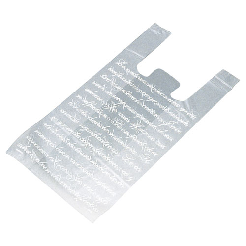 フロスト レジ袋 24×45(31)×横マチ14 4000枚【店舗備品 包装紙 ラッピング 袋 ディスプレー店舗】【厨房館】