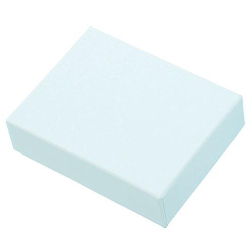 【まとめ買い10個セット品】 ペーパーボックス 中 ブルー 10個【店舗什器 パネル 壁面 小物 ディスプレー 店舗備品】【厨房館】