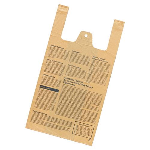 【まとめ買い10個セット品】 レジ袋 フェザント 18×35(23)×横マチ11 4000枚【店舗什器 小物 ディスプレー ギフト ラッピング 包装紙 袋 消耗品 店舗備品】【厨房館】