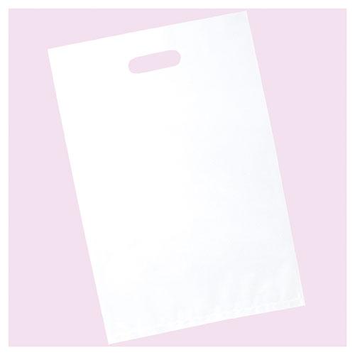 【まとめ買い10個セット品】 ポリ袋ソフト型 白&透明 白 40×50 50枚【店舗什器 小物 ディスプレー ギフト ラッピング 包装紙 袋 消耗品 店舗備品】【厨房館】