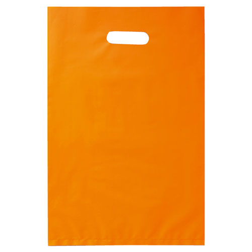 【まとめ買い10個セット品】 ポリ袋ソフト型 カラー オレンジ 30×45 1000枚【店舗什器 小物 ディスプレー ギフト ラッピング 包装紙 袋 消耗品 店舗備品】【厨房館】