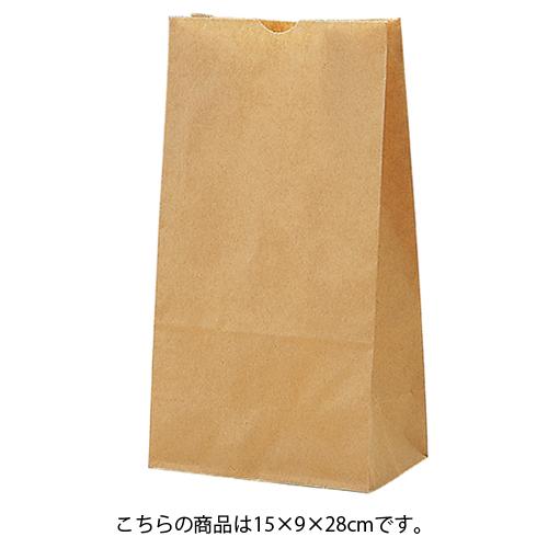【まとめ買い10個セット品】 茶無地 15×9×28 1000枚【厨房館】