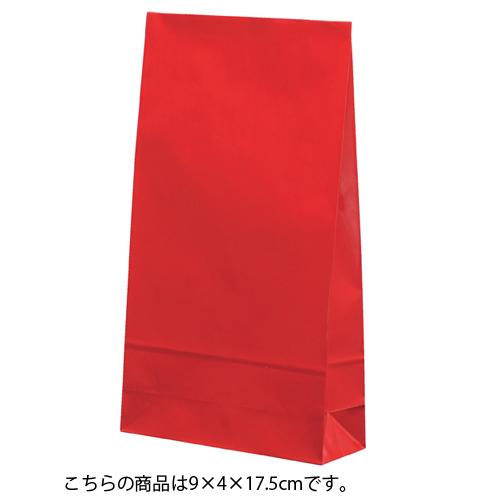 ギフトファンシーバッグ 赤 9×4×17.5 1000枚【店舗備品 包装紙 ラッピング 袋 ディスプレー店舗】【厨房館】
