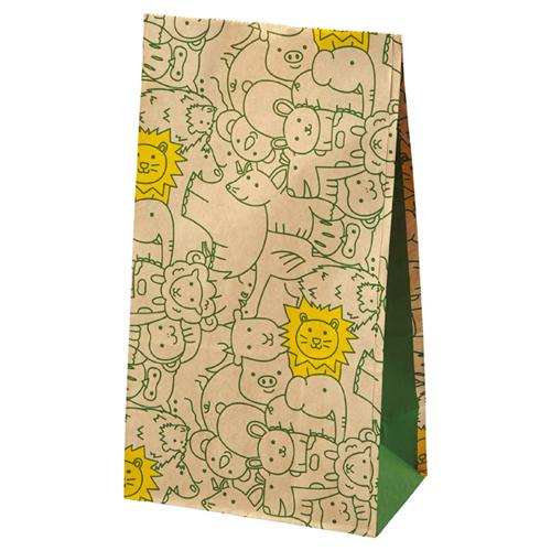 【まとめ買い10個セット品】 パズール 13×8×23.5 2000枚【店舗備品 包装紙 ラッピング 袋 ディスプレー店舗】【厨房館】
