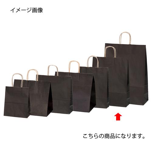 【まとめ買い10個セット品】 カラー手提げ紙袋 ブラウン 32×11.5×41 50枚【店舗備品 包装紙 ラッピング 袋 ディスプレー店舗】【厨房館】