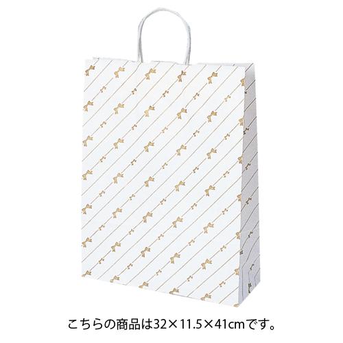 【まとめ買い10個セット品】 斜線リボン 32×11.5×41 200枚【店舗什器 小物 ディスプレー ギフト ラッピング 包装紙 袋 消耗品 店舗備品】【厨房館】