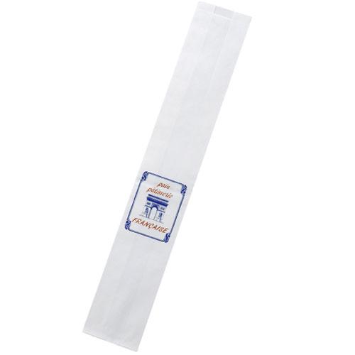 【まとめ買い10個セット品】 フランスパン袋 凱旋門 50枚【店舗備品 包装紙 ラッピング 袋 ディスプレー店舗】【厨房館】