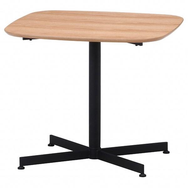カフェテーブル レグナ 70cm×60cm ナチュラル 1台 【厨房館】