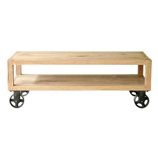 キャスター付きローテーブルW115cm 【厨房館】
