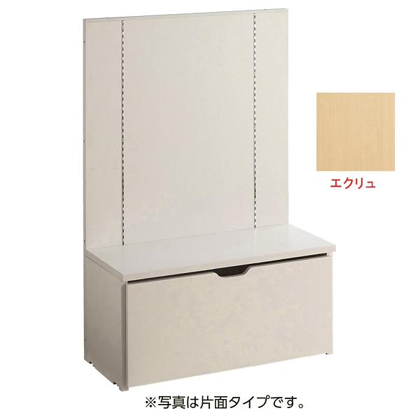 F-PANEL自立展開単体セット両面W90エクリュ 【厨房館】