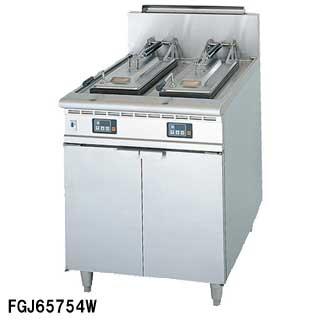 フジマック ガスぎょうざ焼器 FGJ65754W LPガス(プロパンガス)【 メーカー直送/後払い決済不可 】【厨房館】