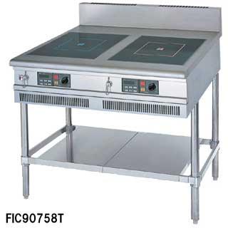 【 業務用 】フジマック 業務用IHテーブル FIC90601FTB W900×D600×H850 【 メーカー直送/代引不可 】