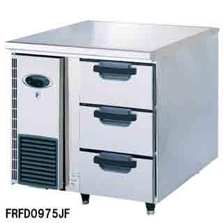【 業務用 】フジマック 業務用冷凍ドロワーコールドテーブル FRFD0975JF W900×D750×H850 【 メーカー直送/後払い決済不可 】