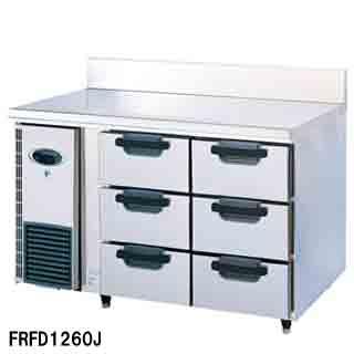 【 業務用 】フジマック 業務用冷凍ドロワーコールドテーブル FRFD1260J W1200×D600×H850 【 メーカー直送/代引不可 】