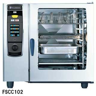フジマック 業務用コンビオーブン FSCCシリーズ ガス式 FSCC102G W1069×D971×H1017 【 メーカー直送/後払い決済不可 】 【厨房館】